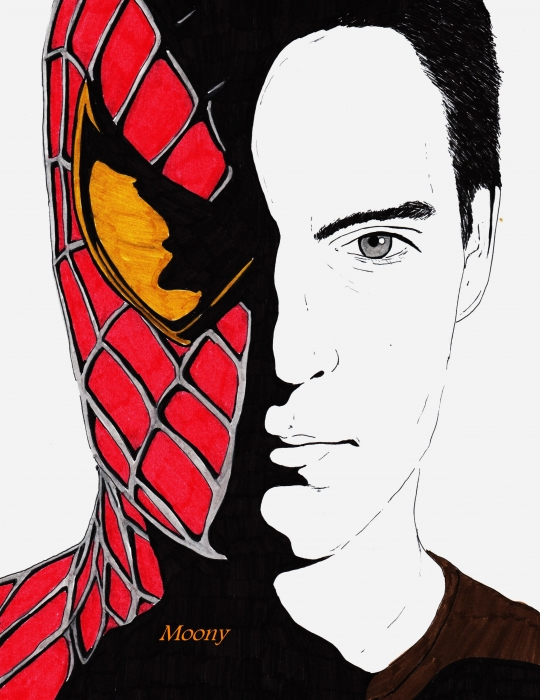 Tobey Maguire by Moony36